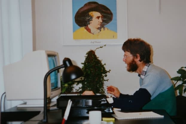 Jens Wilms from ppi Media in 1984