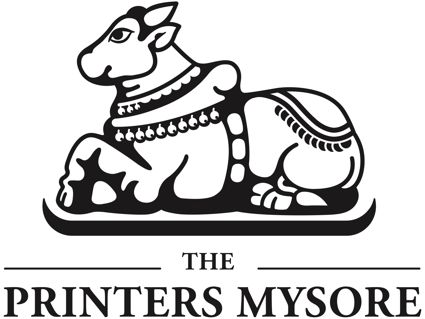 Das Logo von Printers Mysore.